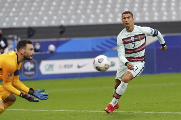 Chỉ 90 phút, Ronaldo đã