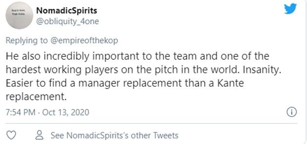 Liverpool: Fans ask for N'Golo Kante signing - Bóng Đá