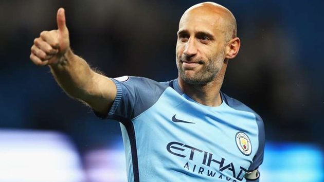 Former Manchester City star Zabaleta retires from football - Bóng Đá
