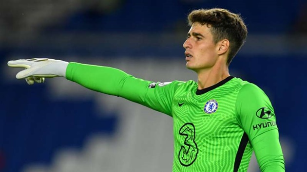 'Kepa's gone from first choice at Chelsea to number three'  - Bóng Đá