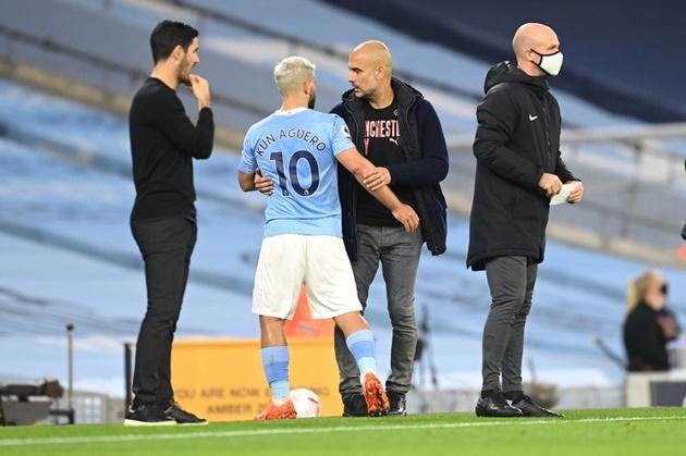 Pep Guardiola explains what Sergio Aguero needs for new Man City contract - Bóng Đá