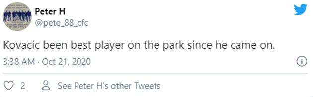 Chelsea fans react to Mateo Kovacic cameo performance against Sevilla - Bóng Đá
