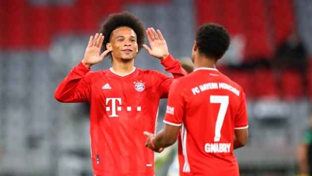 Bayern coach Hansi Flick confirms Leroy Sané is in his squad to face Frankfurt - Bóng Đá