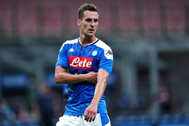 Everton 'to battle Tottenham Hotspur for January Arkadiusz Milik deal' - Bóng Đá