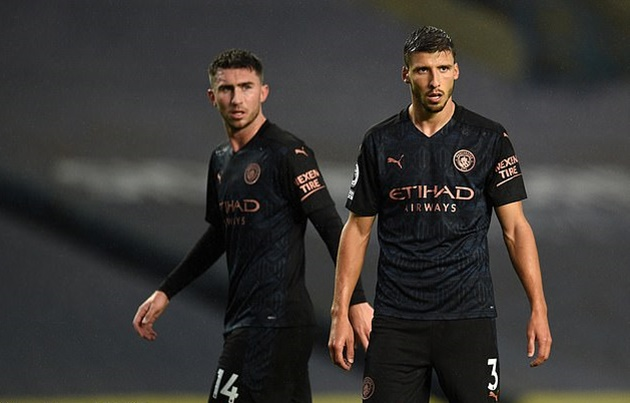 Rio Ferdinand praises 'very secure' partnership of Ruben Dias and Aymeric Laporte after clean sheet against Marseille - Bóng Đá