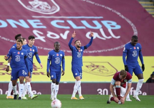 TRỰC TIẾP Burnley 0 - 1 Chelsea: Ziyech mở tỷ số - Bóng Đá