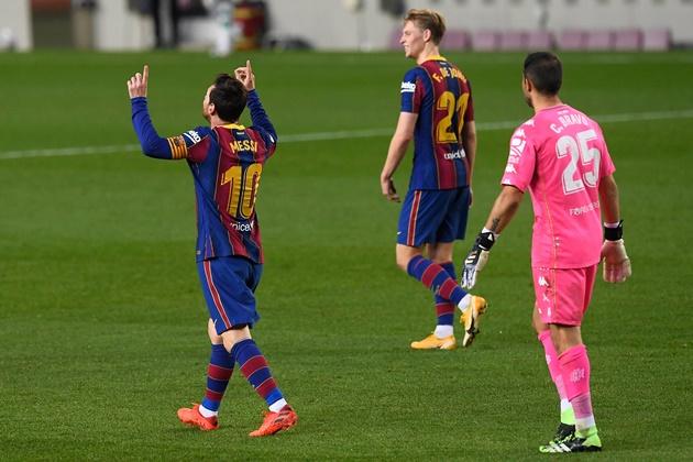 Một lần nữa, Messi tạo ra