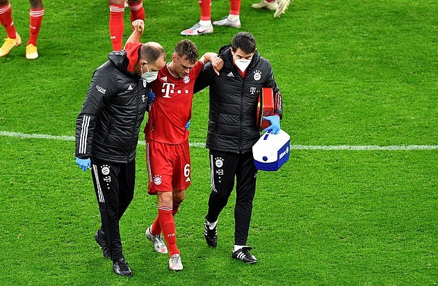 Bayern Munich set to be without star man Joshua Kimmich for the rest of the YEAR  - Bóng Đá