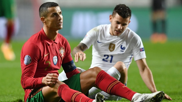 Ronaldo's France drought continues and Portugal pay the price - Bóng Đá