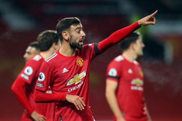 What Bruno Fernandes told Manchester United teammates about penalty incident vs West Brom - Bóng Đá