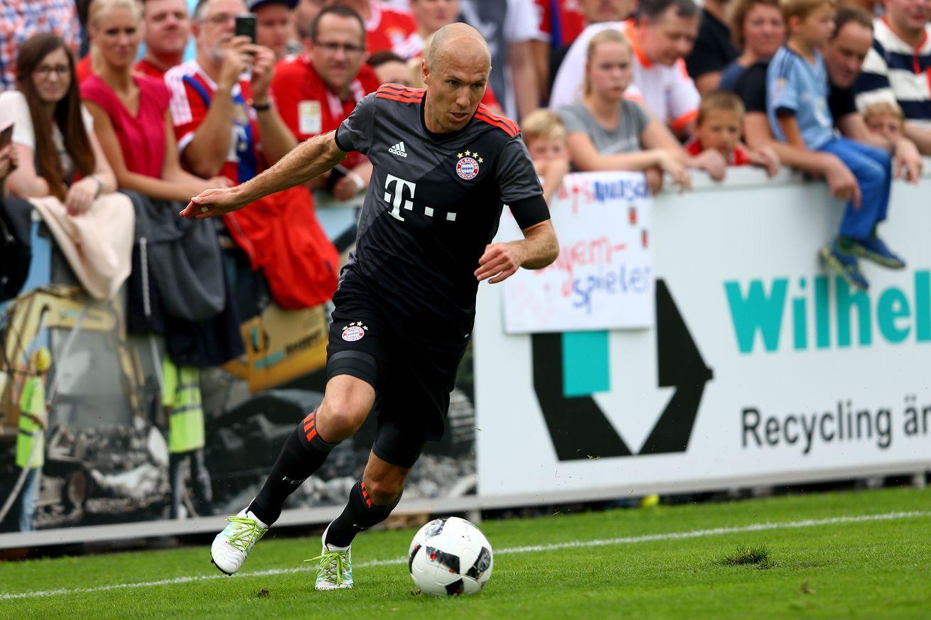 Đến Robben cũng phải e ngại Arsenal