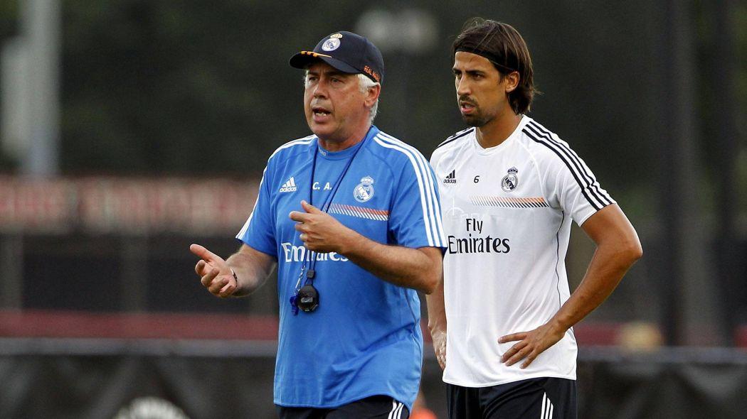 """Khedira đưa thầy cũ tại Real Madrid """"lên mây"""""""