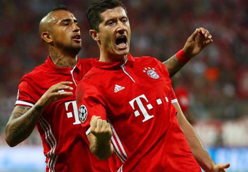"""Bayern Munich, Real Madrid và top 5 hàng công """"khủng"""" nhất châu Âu:"""