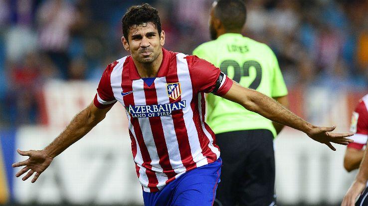 """2 gã khổng lồ La Liga giang tay """"cứu"""" Diego Costa"""
