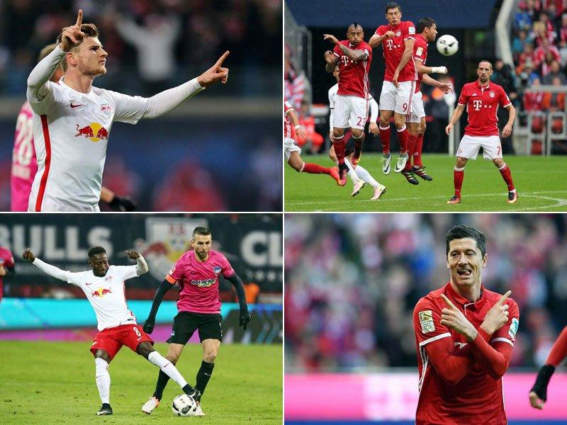 """Lượt về Bundesliga: Bayern vững thế """"độc tôn"""" và câu chuyện của kẻ bám đuổi"""