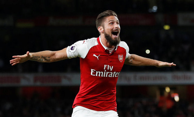 Giải cứu Arsenal, Giroud thiết lập cột mốc khủng - Bóng Đá