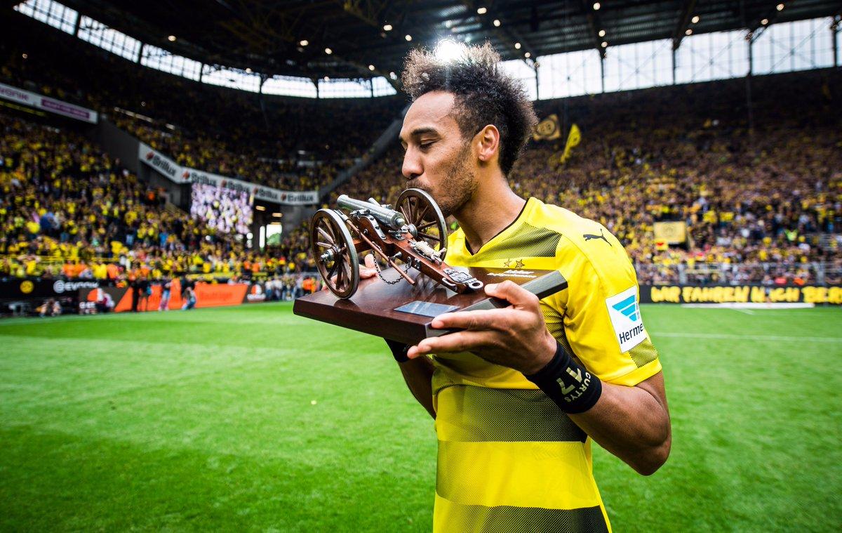 Ghi bàn ầm ầm, Aubameyang phá thêm kỉ lục tại Dortmund - Bóng Đá