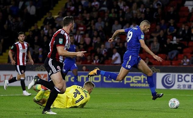 Sheffield United 1 - 4 Leicester City: Show diễn của Slimani - Bóng Đá