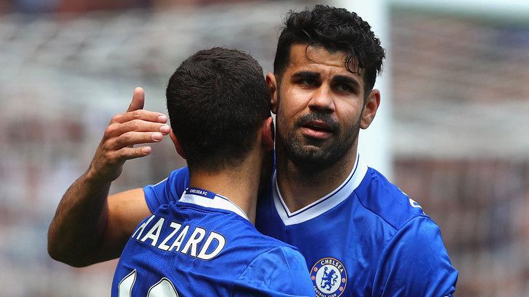 Hazard nài nỉ Diego Costa trở lại Chelsea - Bóng Đá