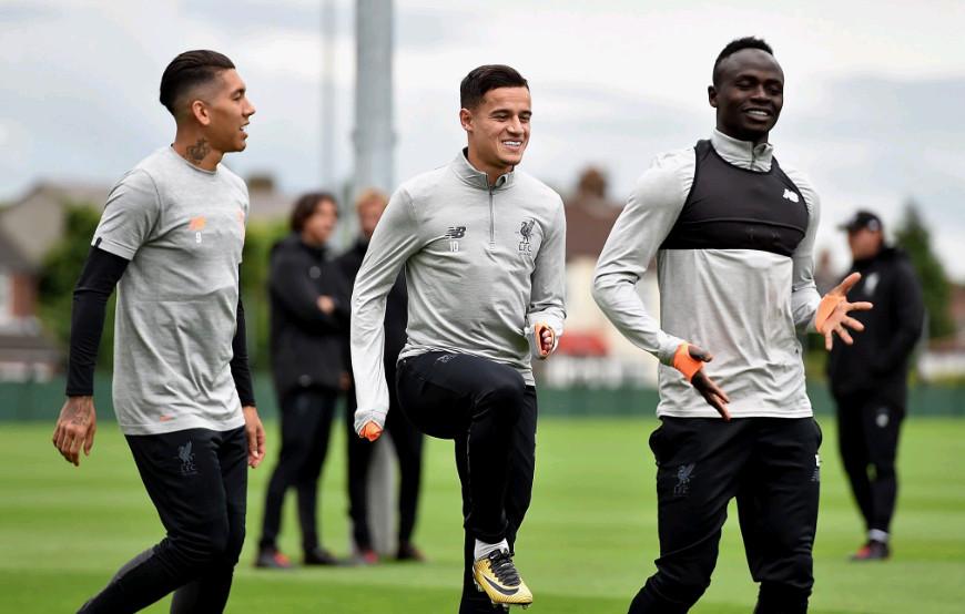 Ảnh Liverpool tập luyện - Bóng Đá