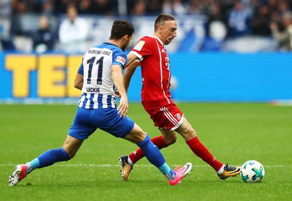 Hertha Berlin 2-2 Bayern Munich - Bóng Đá
