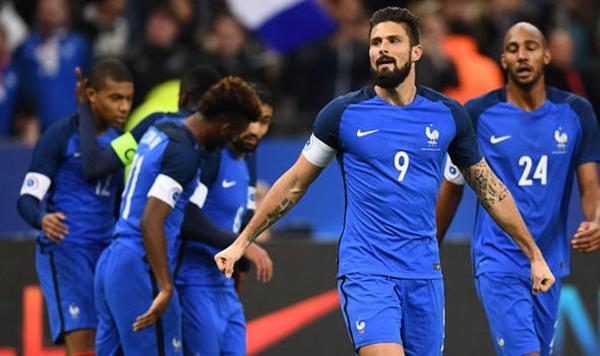 Griezmann và Giroud nổ súng, Pháp dễ dàng hạ nhục Xứ Wales - Bóng Đá
