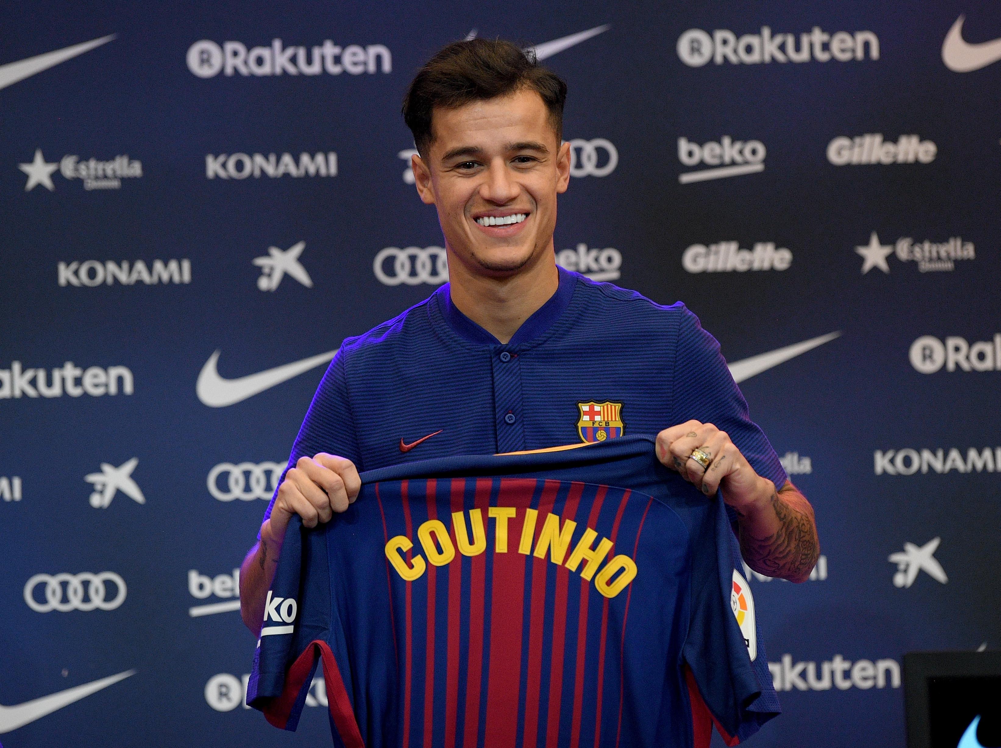 Vừa đặt chân đến Barcelona, Coutinho đã khen đồng đội tới tấp - Bóng Đá