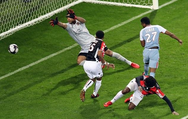 Nice 1-2 Monaco - Bóng Đá
