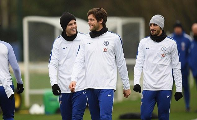 Chelsea tập luyện - Bóng Đá