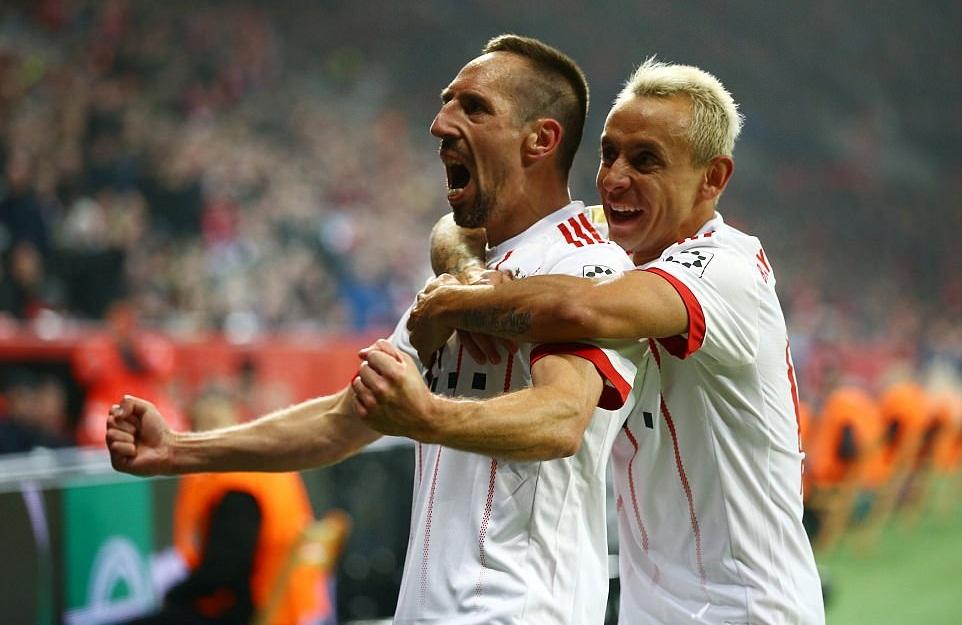Leverkusen 1-3 Bayern - Bóng Đá