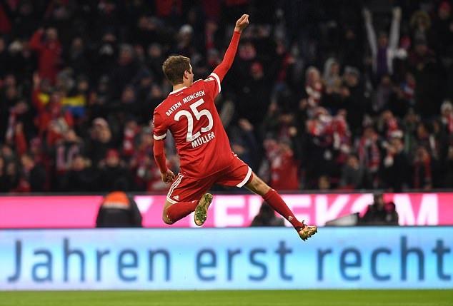 Bayern 4-2 Bremen - Bóng Đá