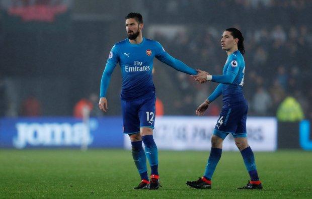 Arsenal thua sốc, Giroud chào từ biệt CĐV để sang Chelsea - Bóng Đá