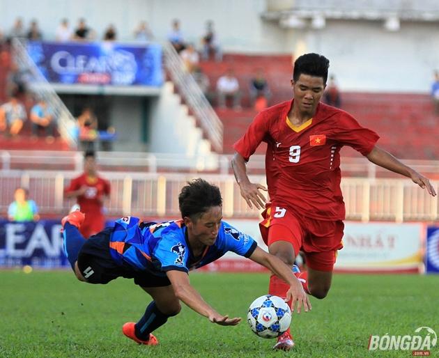 Thua tối thiểu Yokohama, chủ nhà U21 Việt Nam vẫn giành vé vào bán kết