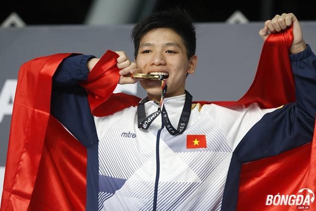 TRỰC TIẾP SEA Games 25/08: Kim Sơn tạo sốc tại cự ly 400m hỗn hợp - Bóng Đá