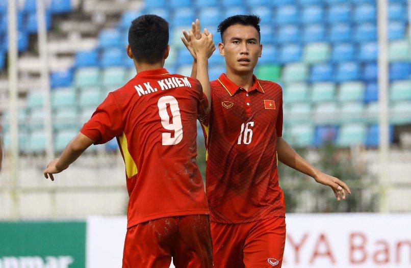 Thắng nhẹ bàn tay nhỏ trước Philippines, U18 Việt Nam vững ngôi đầu bảng B U18 AFF 2017 - Bóng Đá