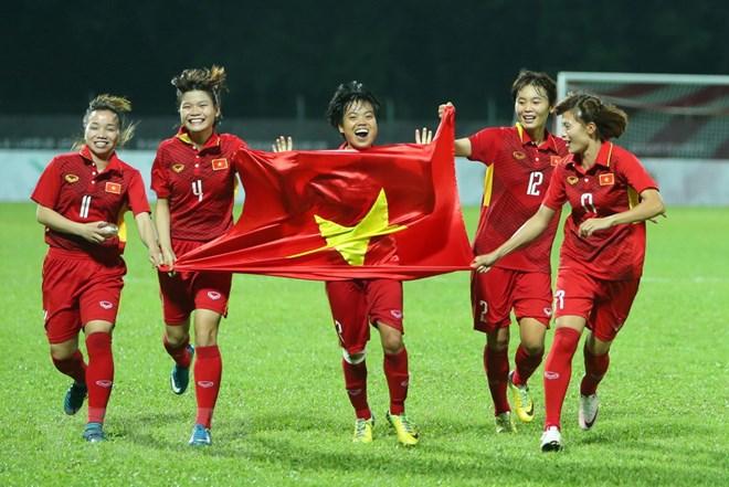 ĐT nữ Việt Nam rơi vào bảng đấu khó khăn trước các đối thủ là Myanmar, Triều Tiên và Hàn Quốc