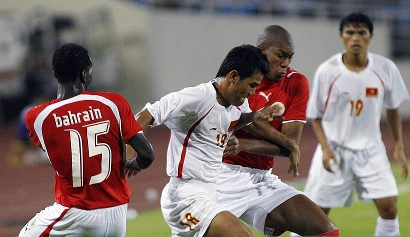 Việt Nam 5-3 Bahrain (giao hữu, 30/6/2007)