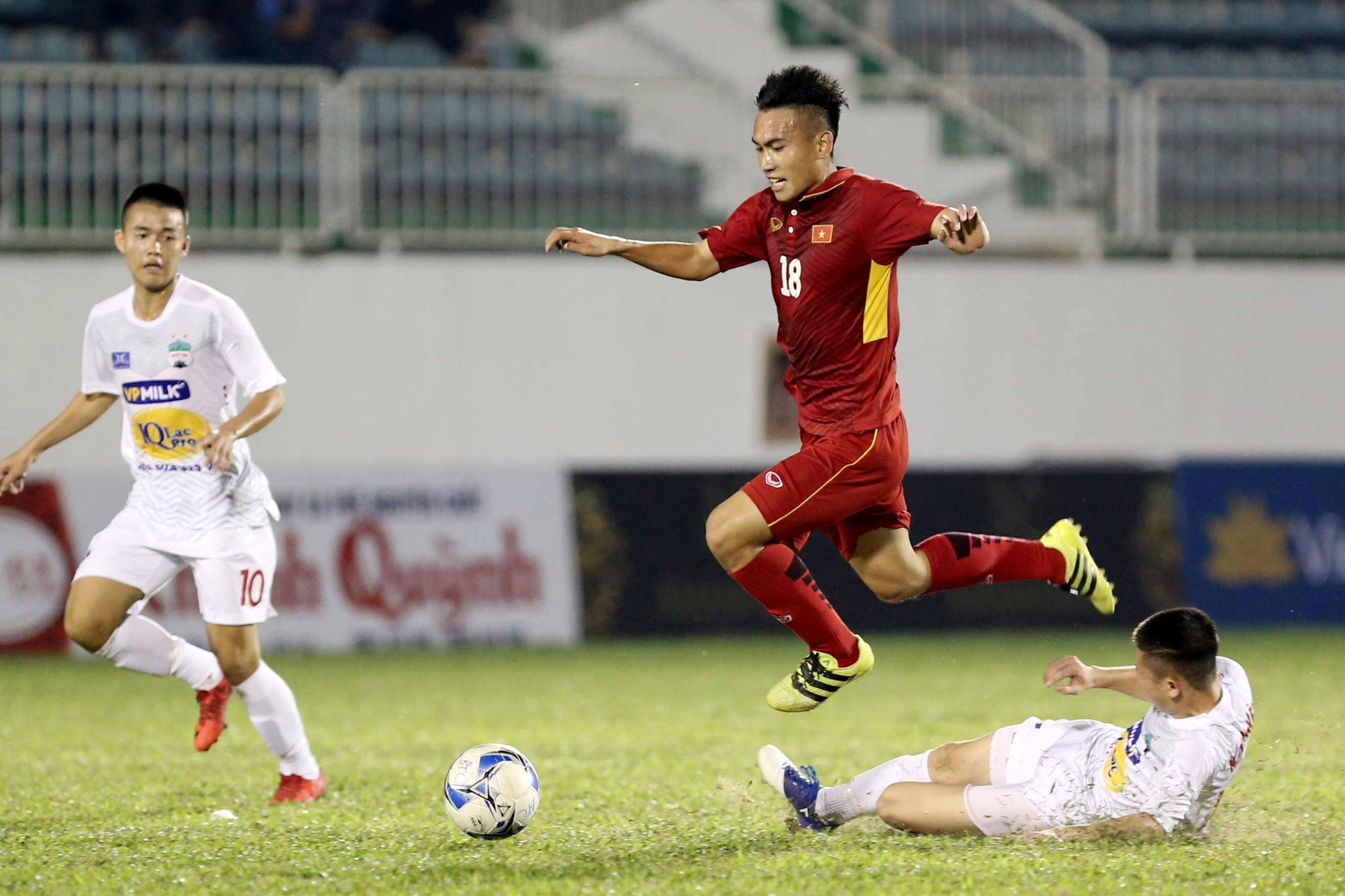 U19 Việt Nam vs U19 HAGL