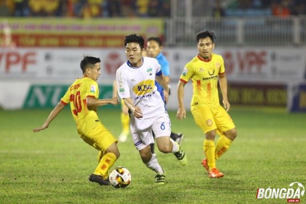 TRỰC TIẾP Hoàng Anh Gia Lai 1-0 Nam Định (Hiệp 2): Xuân Trường kiến tạo - Bóng Đá