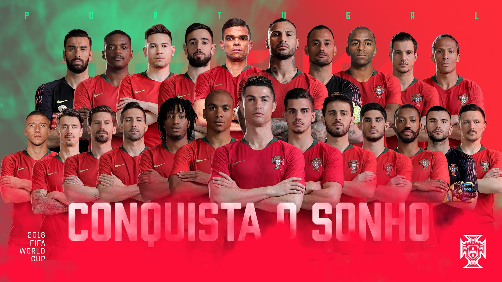 Chính thức: Ronaldo lĩnh xướng danh sách 23 cầu thủ Bồ Đào Nha sang Nga dự World Cup - Bóng Đá