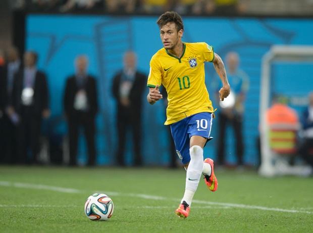 Neymar là linh hồn trong lối chơi của ĐT Brazil. Ảnh: Internet.