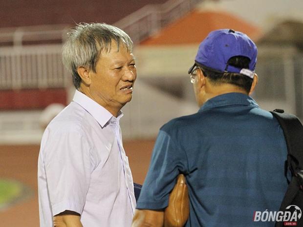 HLV Lê Thụy Hải cần phải chứng minh tài năng của mình trên băng ghế huấn luyện FLC Thanh Hóa. Ảnh: Mạnh Cường.