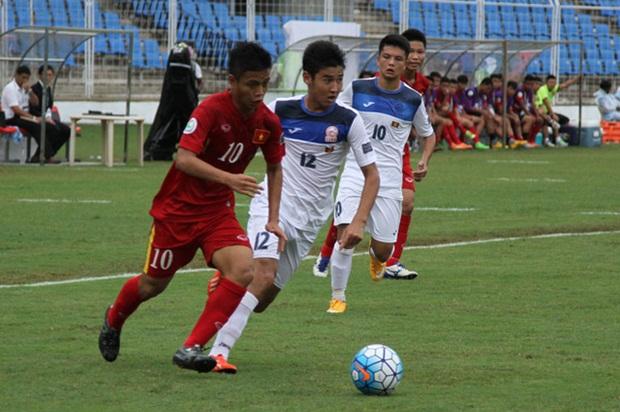 U16 Việt Nam trước cơ hội đoạt vé tham dự World Cup U17 vào năm 2017. Ảnh: Internet.