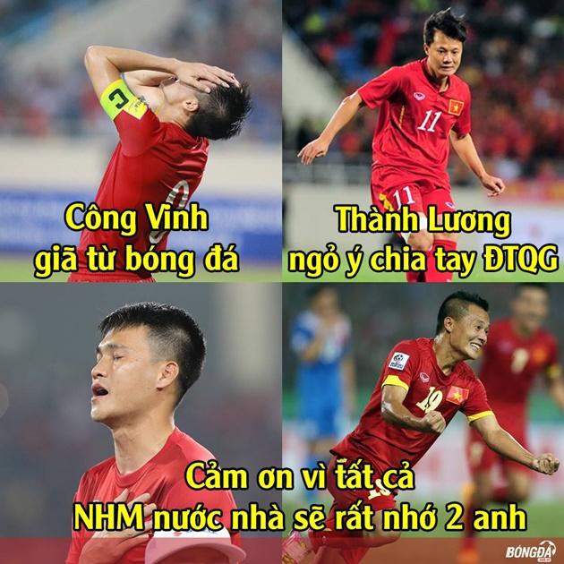 """Ảnh chế: Bầy cáo """"bôi tro trét trấu"""" vào mặt bóng đá Anh; Tuyển Việt Nam ôm hận vì """"tài nguyên phong phú"""""""