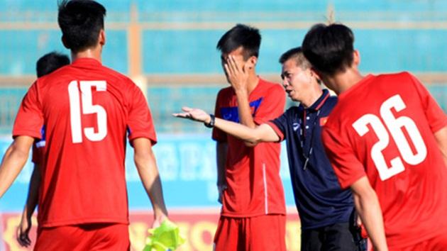 U20 Việt Nam tích cực tập luyện chuẩn bị cho U20 World Cup 2017. Nguồn: bongda.com.vn