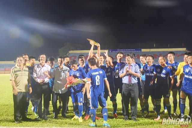 CAND và Bình Định góp mặt ở hạng nhất 2018 - Bóng Đá
