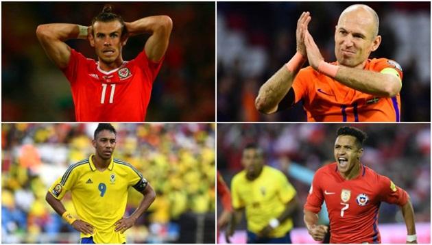 World Cup 2018: Tiếc cho kẻ lỗi hẹn! - Bóng Đá