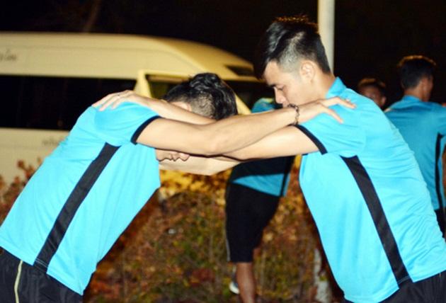 Vừa có mặt tại Thái Lan, ĐT U23 Việt Nam đã tranh thủ tập luyện - Bóng Đá