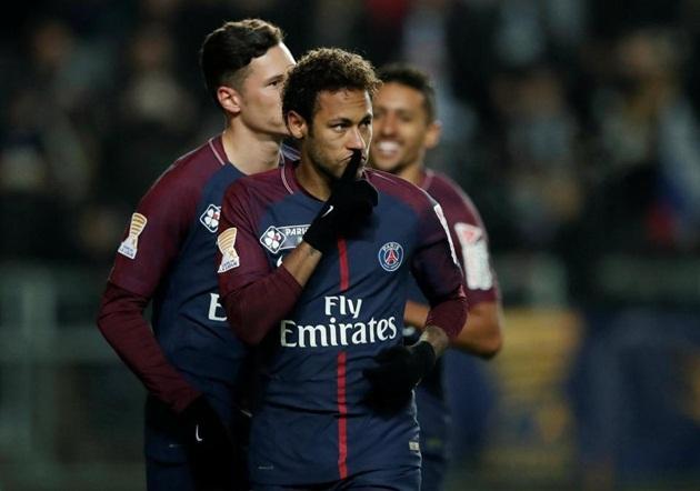 Neymar và Ozil trong top cầu thủ sáng tạo nhất châu Âu - Bóng Đá