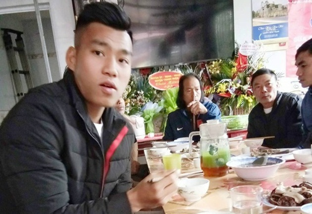 Tuyển thủ U23 Việt Nam về đoàn tụ cùng gia đình đón Tết Nguyên đán